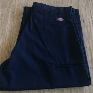 New With Tags Dickies Navy Blue Pants Size 30UL